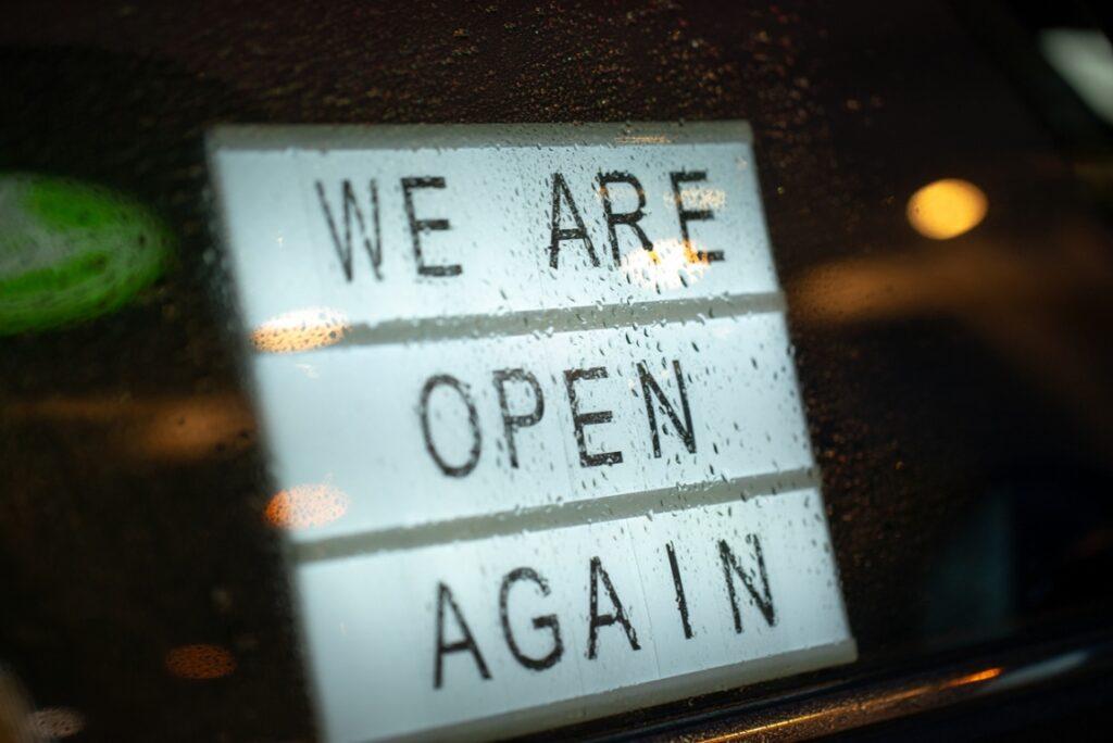 Open again - Lightbox, COVID Safe